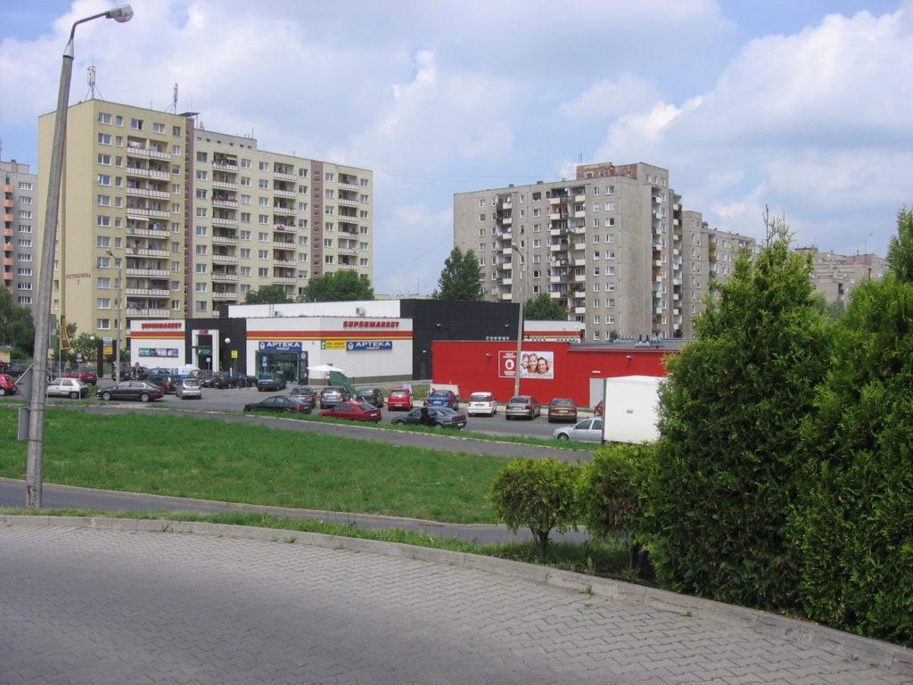 """05 Wypożyczalnia filmów DVD """"ALFA"""" 45-304 Opole ul. Sieradzka 3 Malinka lokal"""