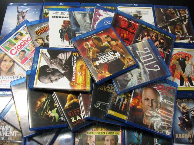 Płyty Blu-rey na sprzedaż