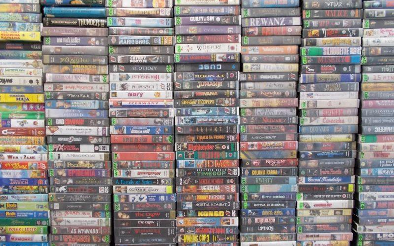 VHS Kasety Video na sprzedaż